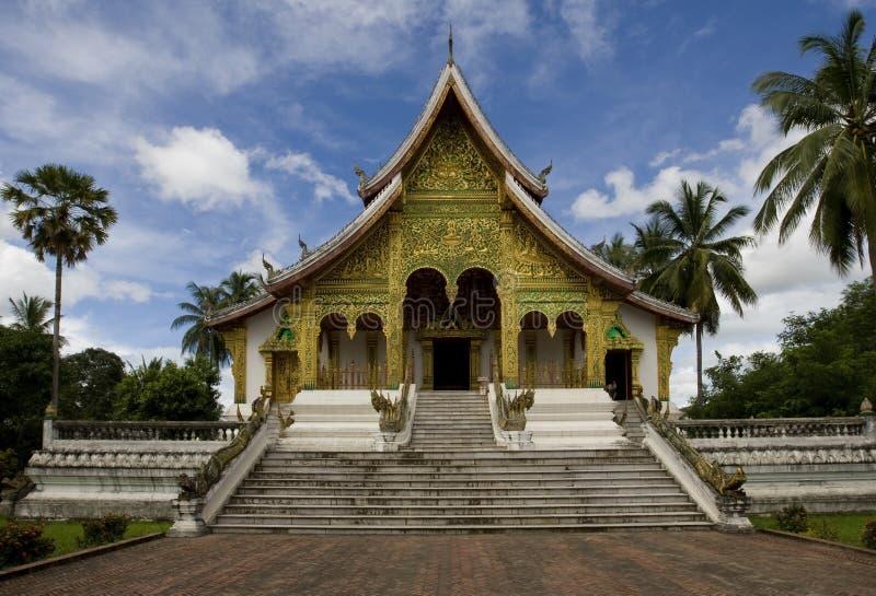 Templo Ho Kham, Luang Prabang, Laos imagem de stock royalty free