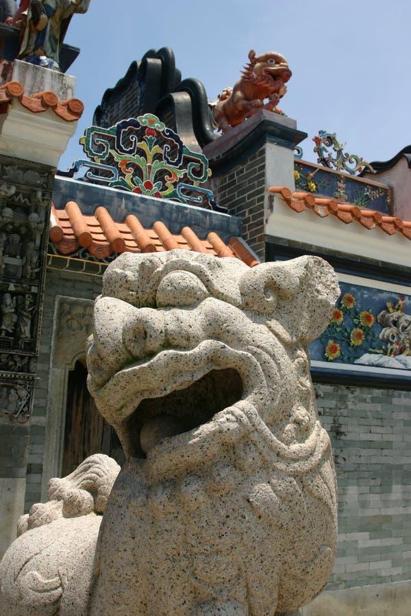 Templo Hong Kong de Hau do estanho imagens de stock