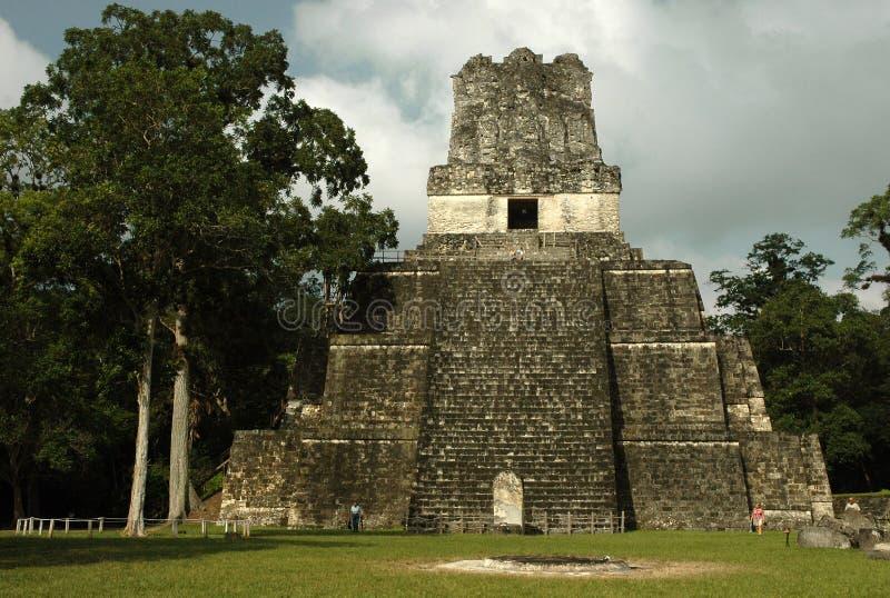 Templo II imagen de archivo libre de regalías