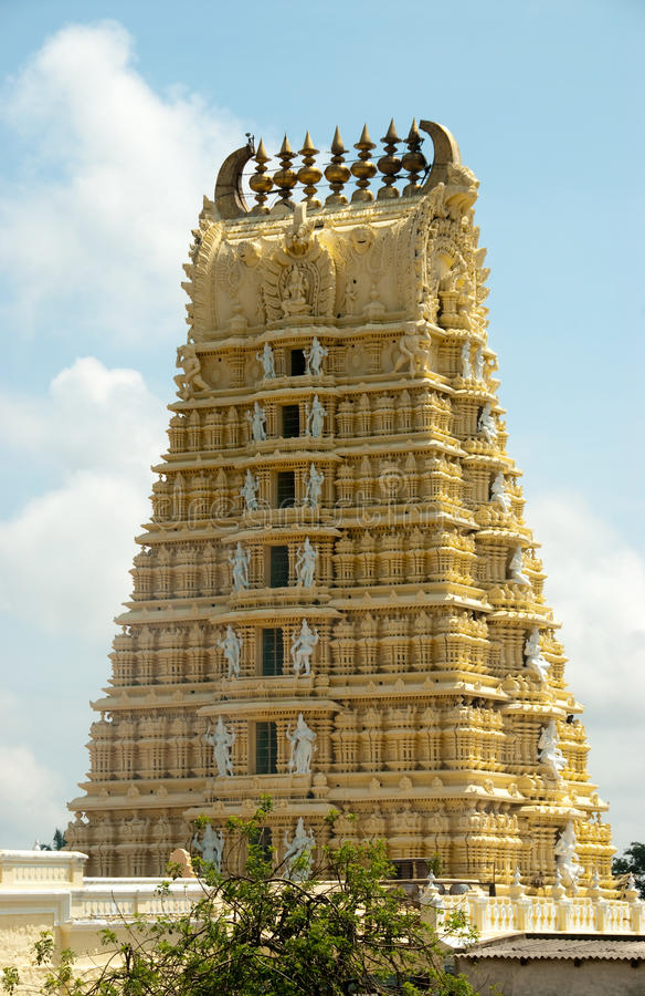 Templo indiano imagem de stock