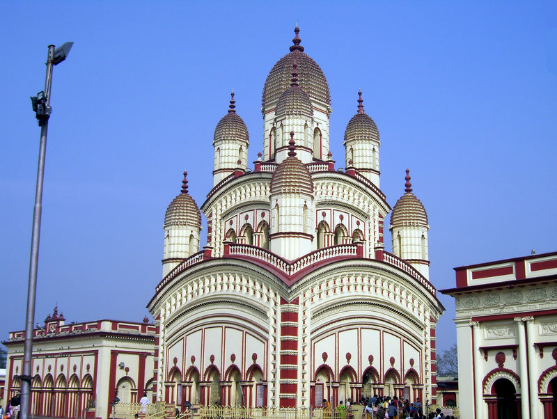 Templo indiano em Kolkata foto de stock