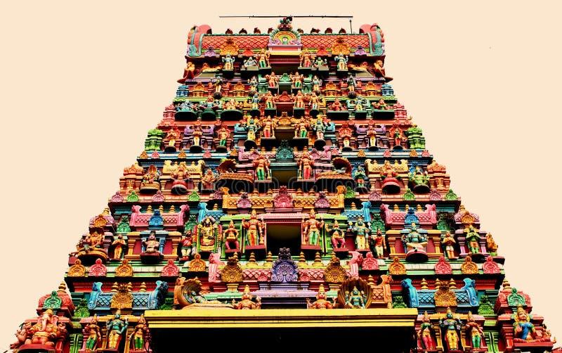 Templo indio imagen de archivo