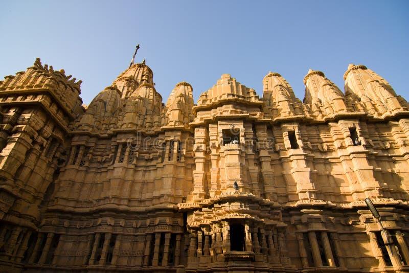 Templo Jain foto de archivo