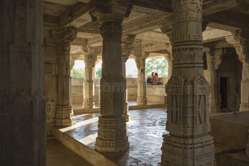 Templo Jain del aadinah foto de archivo libre de regalías
