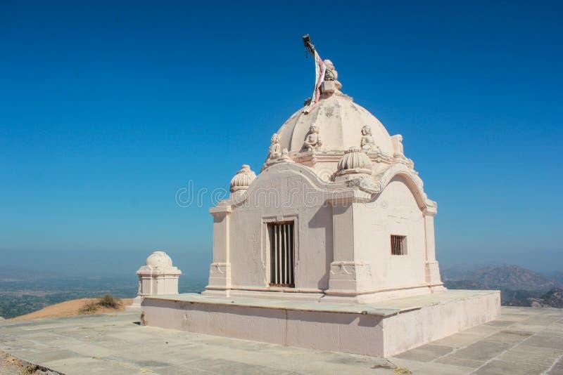Templo jain dos montes de Taranga imagem de stock royalty free
