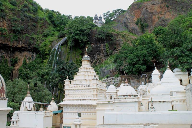 Templo Jain en Muktagiri fotos de archivo