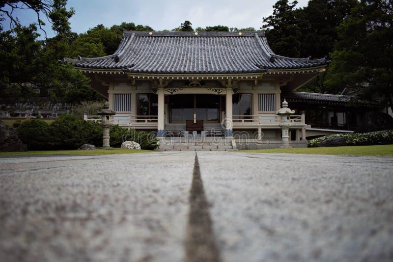 Templo japonês em Machida, Tóquio, Japão foto de stock