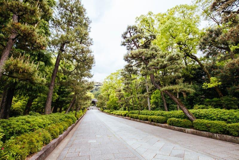 Templo Kyoto Jap?n de Otani Sobyo fotos de archivo libres de regalías