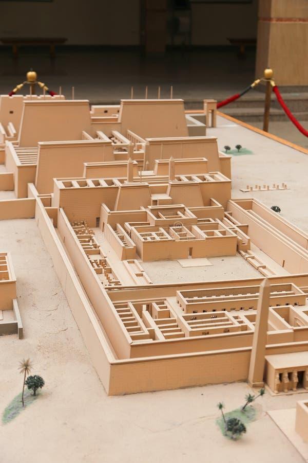 Templo luxor de Karnak imagens de stock