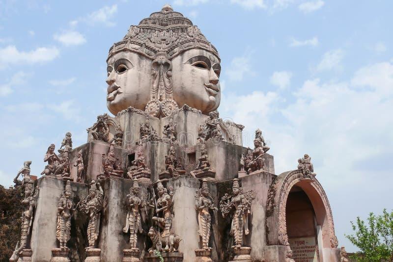 Templo místico de Shri Yantra fotografia de stock royalty free