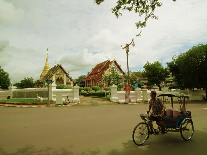 Templo Mae Hong Son foto de archivo libre de regalías