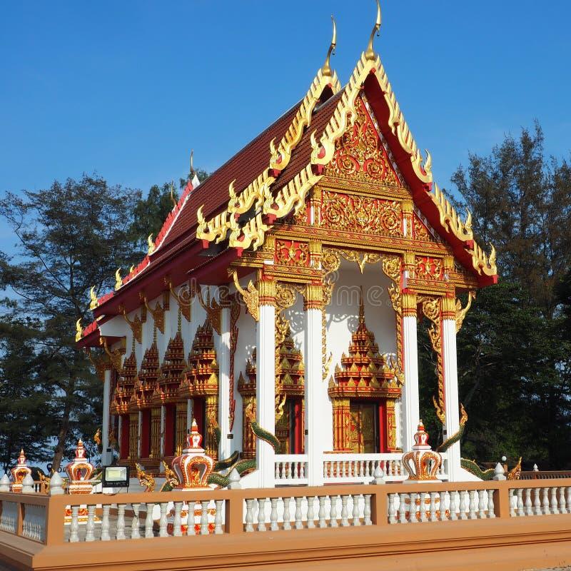 Templo magnífico banhado na luz da tarde fotografia de stock royalty free