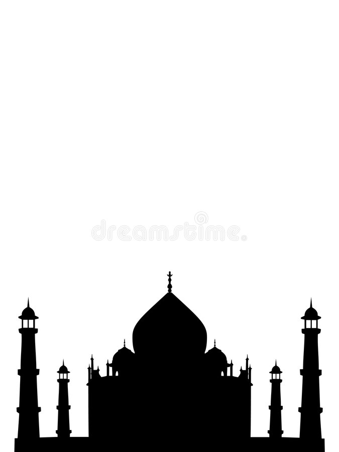 Templo mahal de Thaj em india