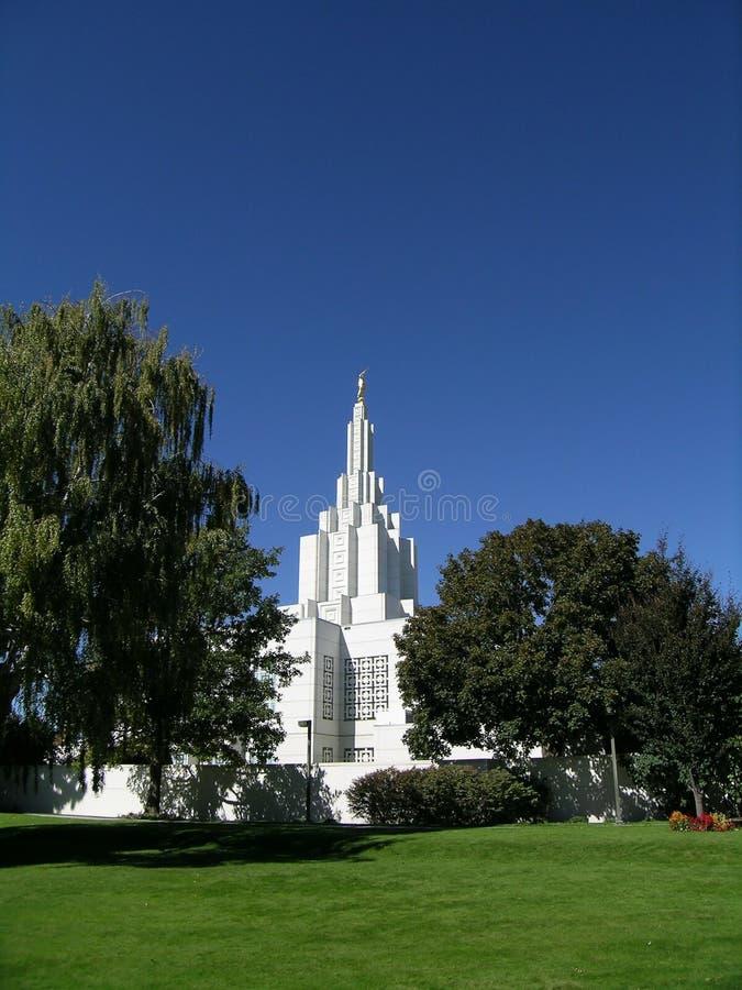 Download Templo mormónico foto de archivo. Imagen de espiritual - 1298346