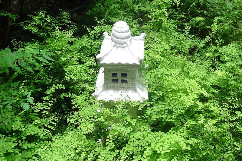 Download Templo no jardim imagem de stock. Imagem de japonês, maidenhair - 62457