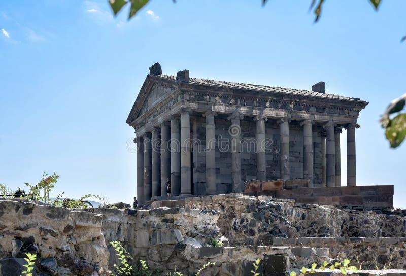 Templo Pagan en Armenia, Garni, foto de archivo libre de regalías