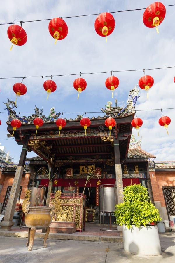 Templo Penang Malásia da serpente imagens de stock royalty free