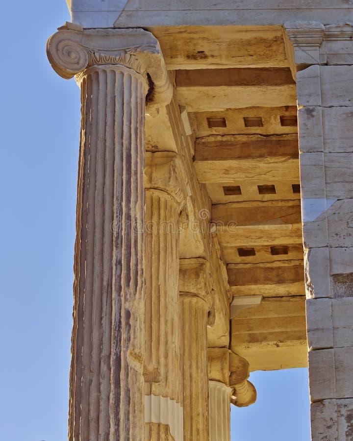 Templo pequeno de Athena Nike, Atenas Grécia imagens de stock