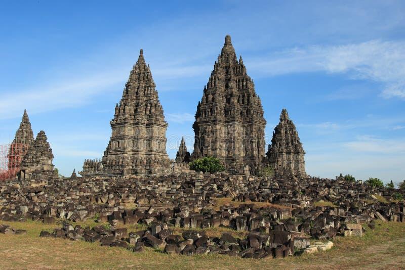 Templo Prambanan de Buddist. imagens de stock royalty free