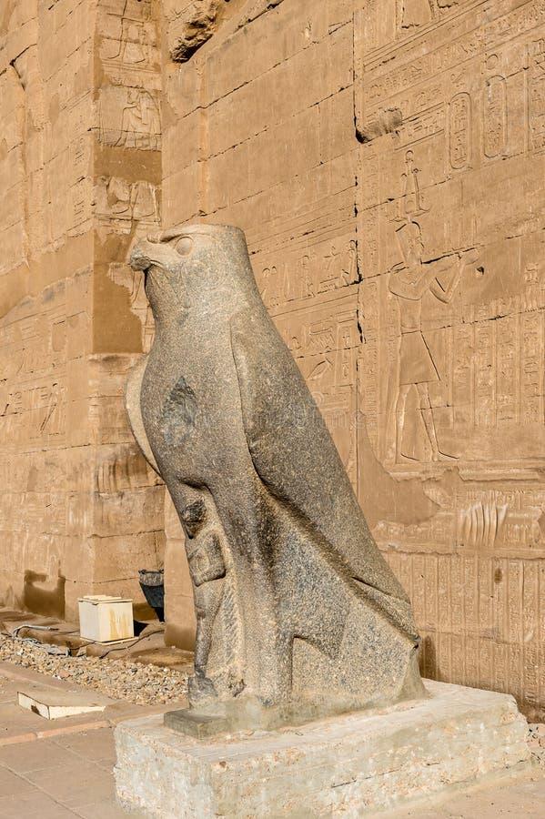 Templo Ptolemaic de Horus, Edfu, Egipto fotos de archivo libres de regalías