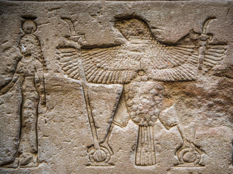 Templo Ptolemaic de Horus, Edfu, Egipto libre illustration