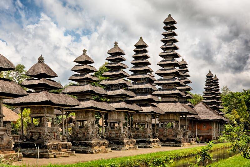 Templo real Taman Ayun, Bali, Indonésia foto de stock