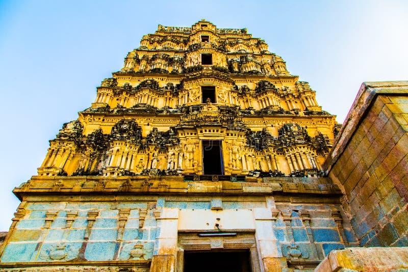 Templo religioso en Hampi, la India imagen de archivo libre de regalías