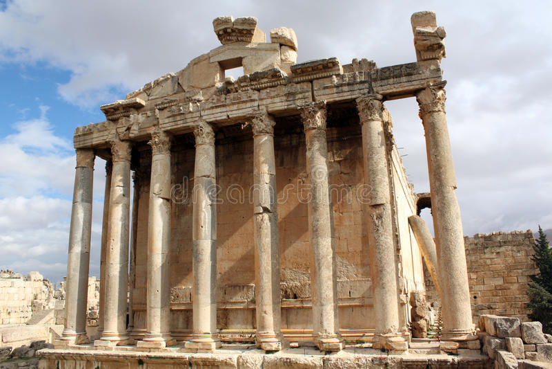 Templo romano fotos de archivo