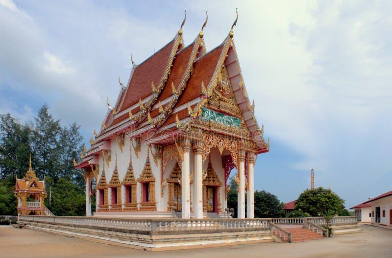 Templo Samui de Wat Bangrak, Tailândia fotografia de stock royalty free