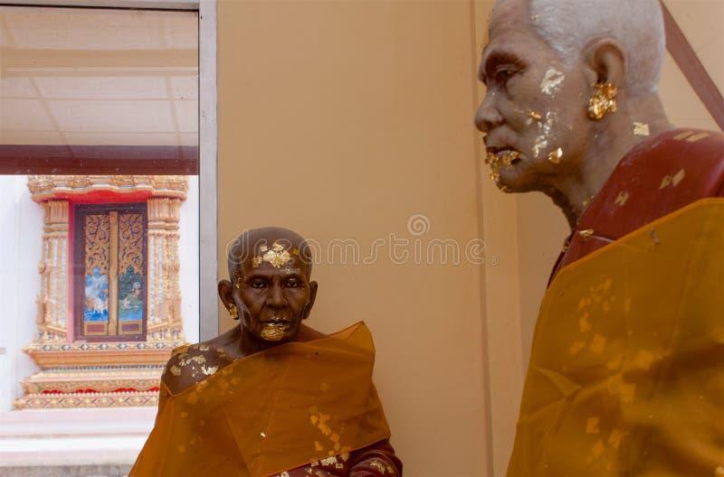 Templo Samui de Wat Bangrak, Tailândia fotografia de stock