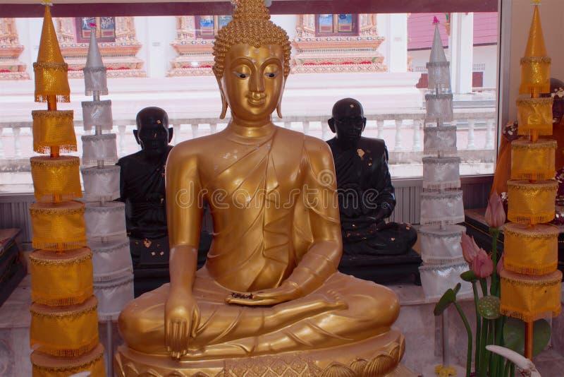 Templo Samui de Wat Bangrak, Tailândia imagem de stock royalty free