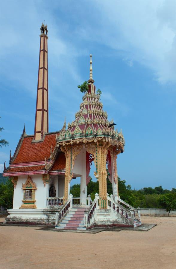Templo Samui de Wat Bangrak, Tailândia imagem de stock