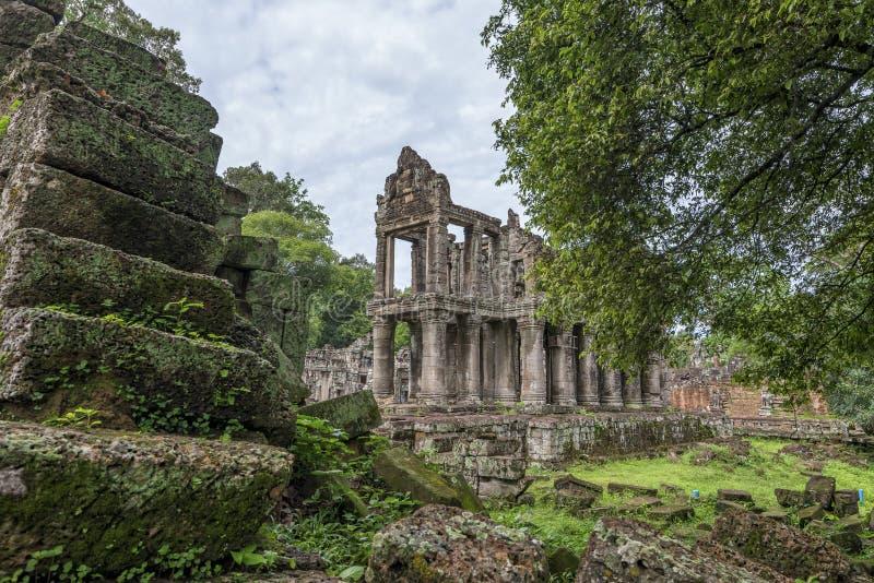 Templo Siem Reap, Angkor Wat, Camboya de Preah Kahn fotografía de archivo