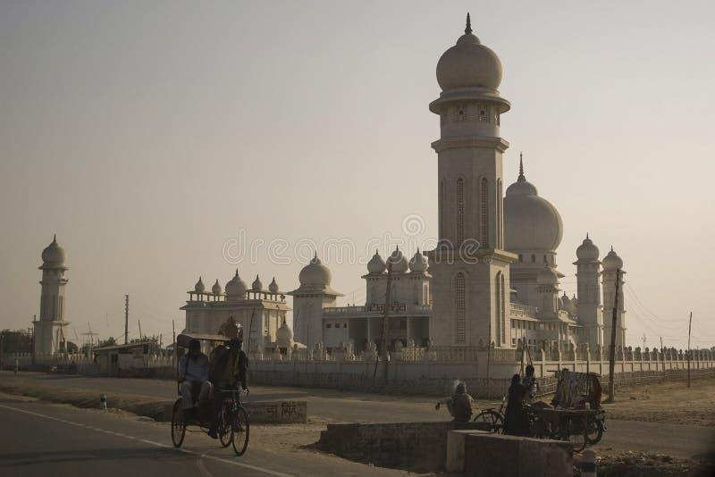 Templo sikh, la India en la puesta del sol fotos de archivo
