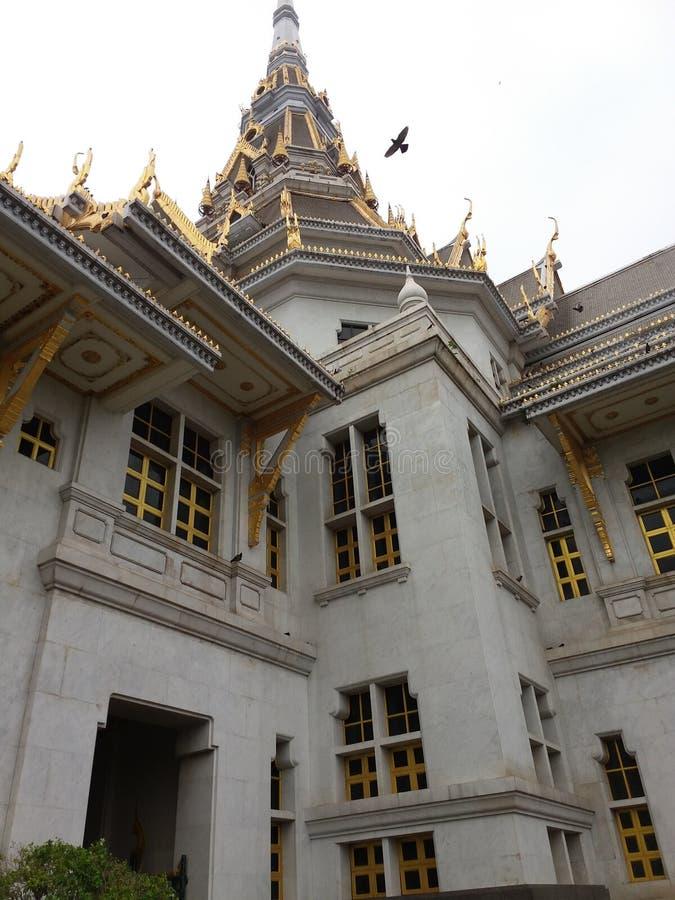 Templo Sothon Worawiharn imagem de stock
