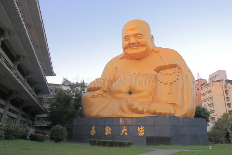 Templo Taichung Taiwan de Bao Jue imagem de stock