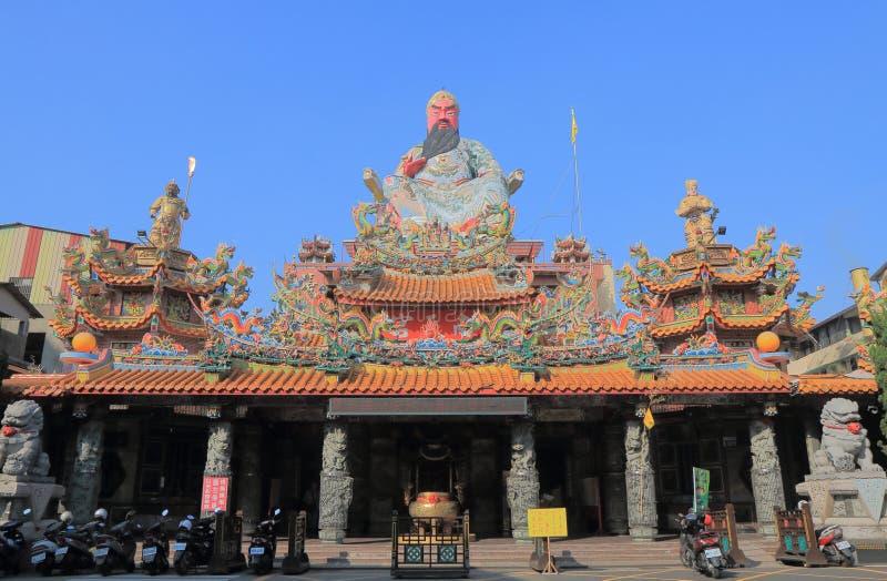 Templo Taichung Taiwan de Nan Tian foto de stock