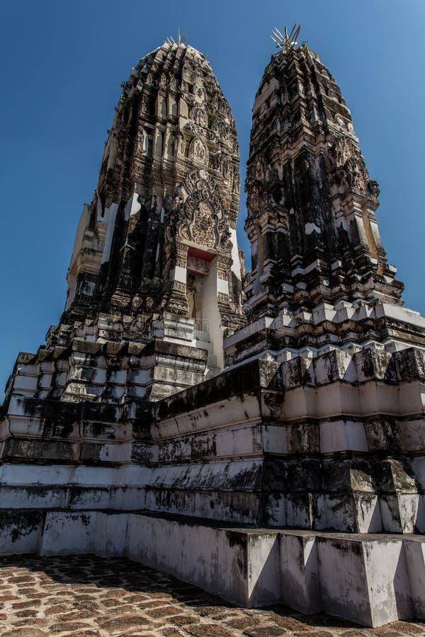 Templo tailandés viejo fotos de archivo libres de regalías