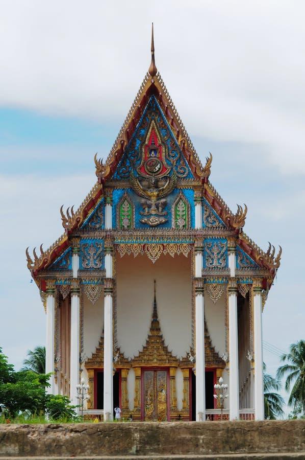 Templo tailandês fotografia de stock