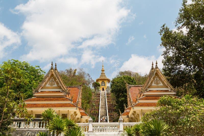 Templo tailandês de Mondop fotos de stock royalty free