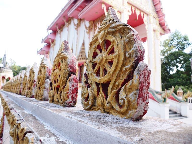Templo tailandês do budismo em Yasothon fotografia de stock royalty free