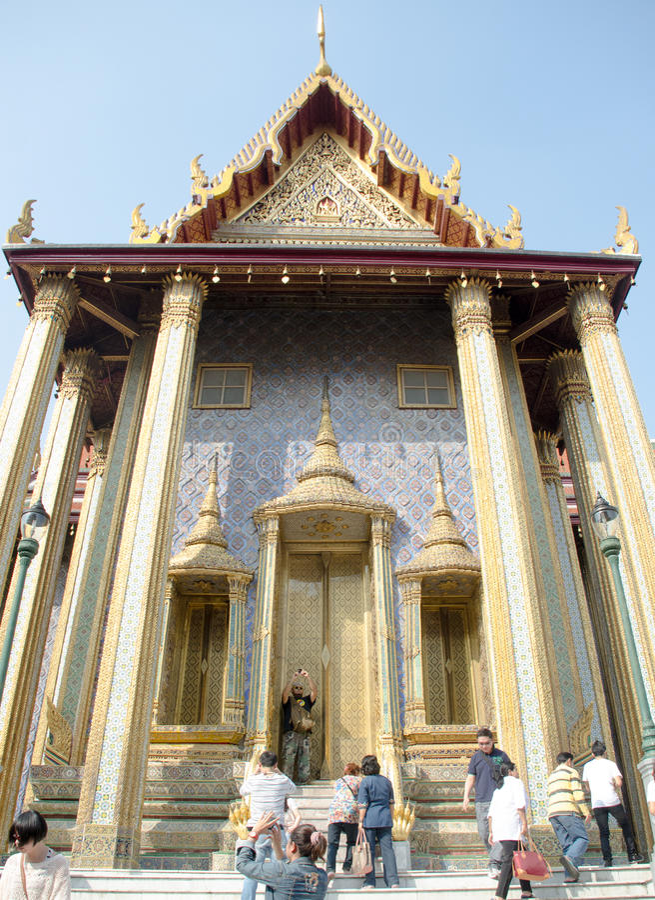 Templo Tailandia foto de archivo