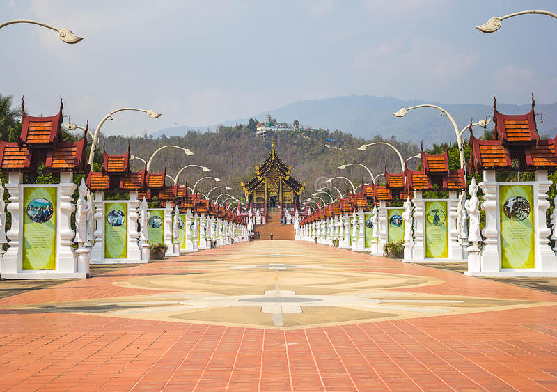 Templo Tailandia fotografía de archivo