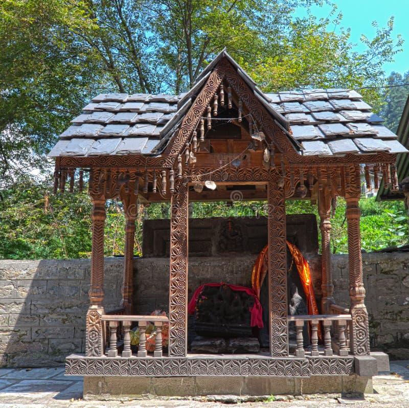 Templo tibetano foto de archivo libre de regalías