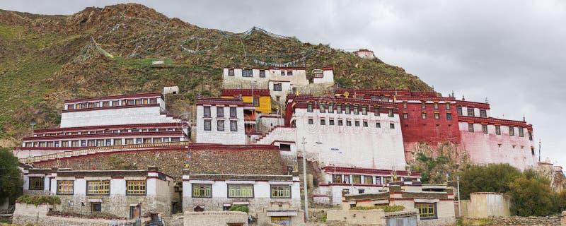 Templo tibetano foto de archivo