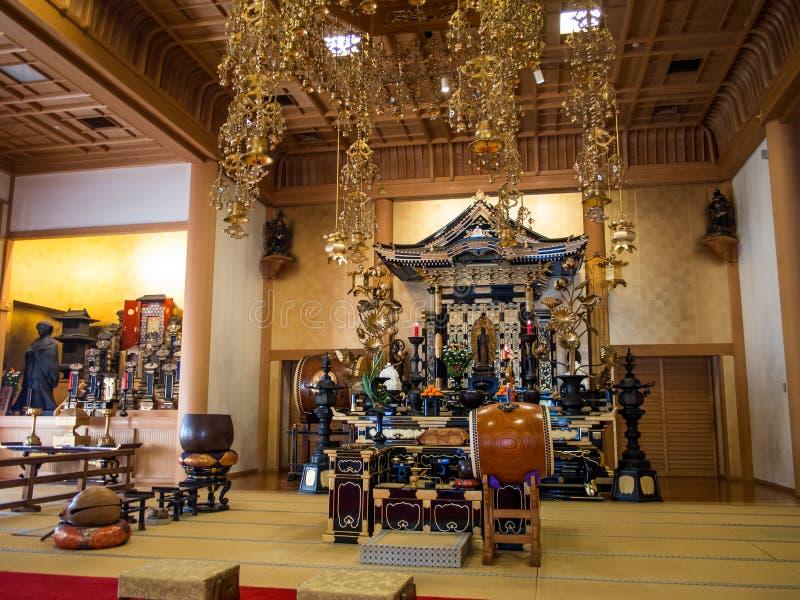 Templo Tokio Japón de Zojoji imagenes de archivo