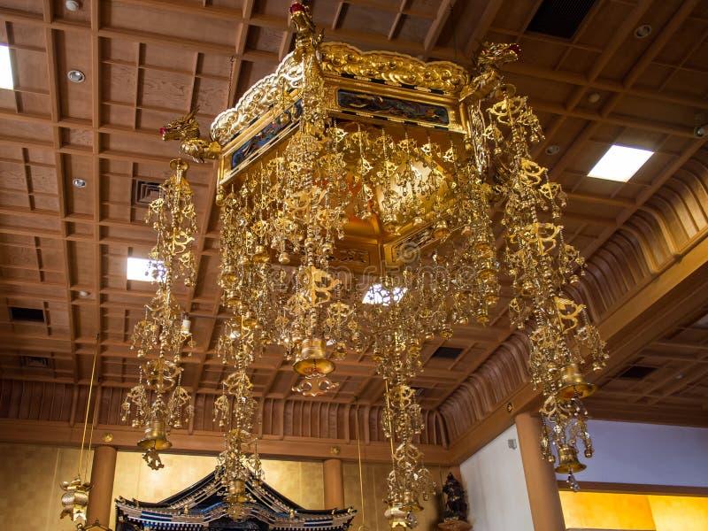 Templo Tokio Japón de Zojoji foto de archivo libre de regalías