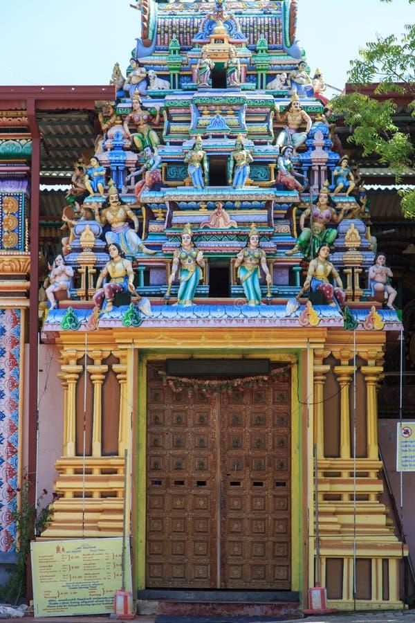 Templo Trincomalee - Sri Lanka de Koneswaram fotos de stock
