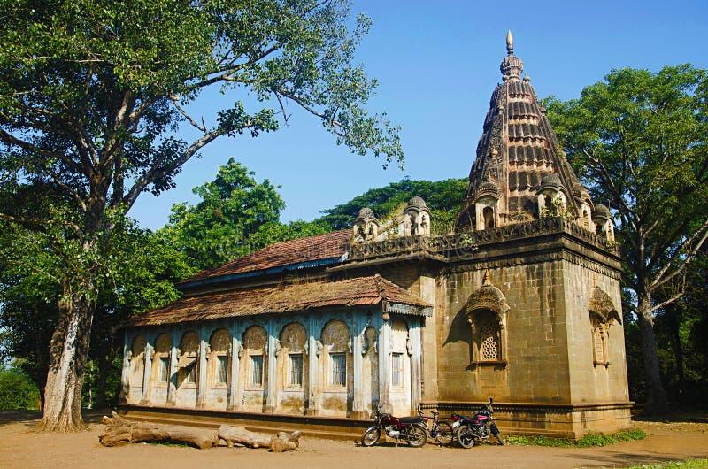 Templo viejo de Lord Ram, cerca del río de Panchaganga, Kolhapur, maharashtra fotos de archivo libres de regalías
