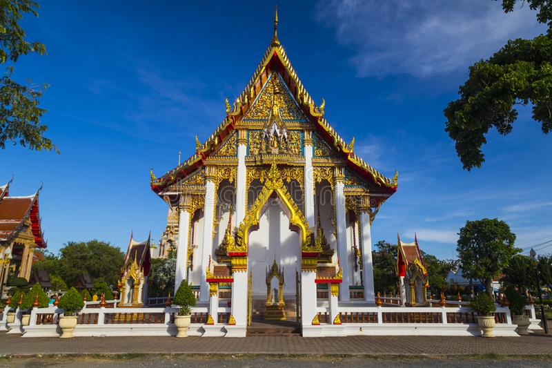 Templo Wat Chalong, Phuket tailândia foto de stock